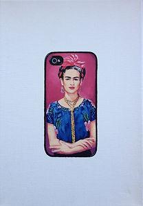 Kate Arthur - Hashtag Frida #3, oil on canvas