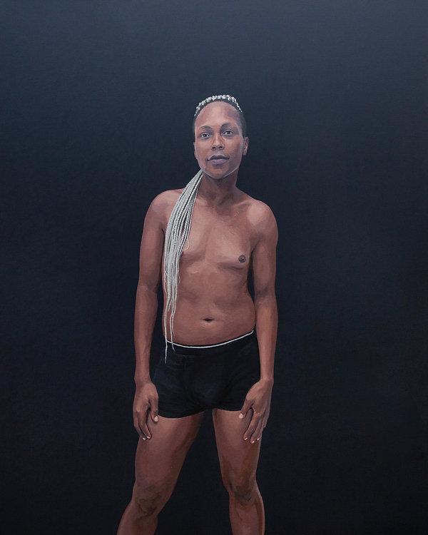 Kate Arthur - 2019 - Olwethu - oil on ca