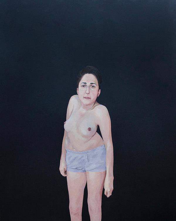 Kate Arthur - 2019 - Gaby - oil on canva