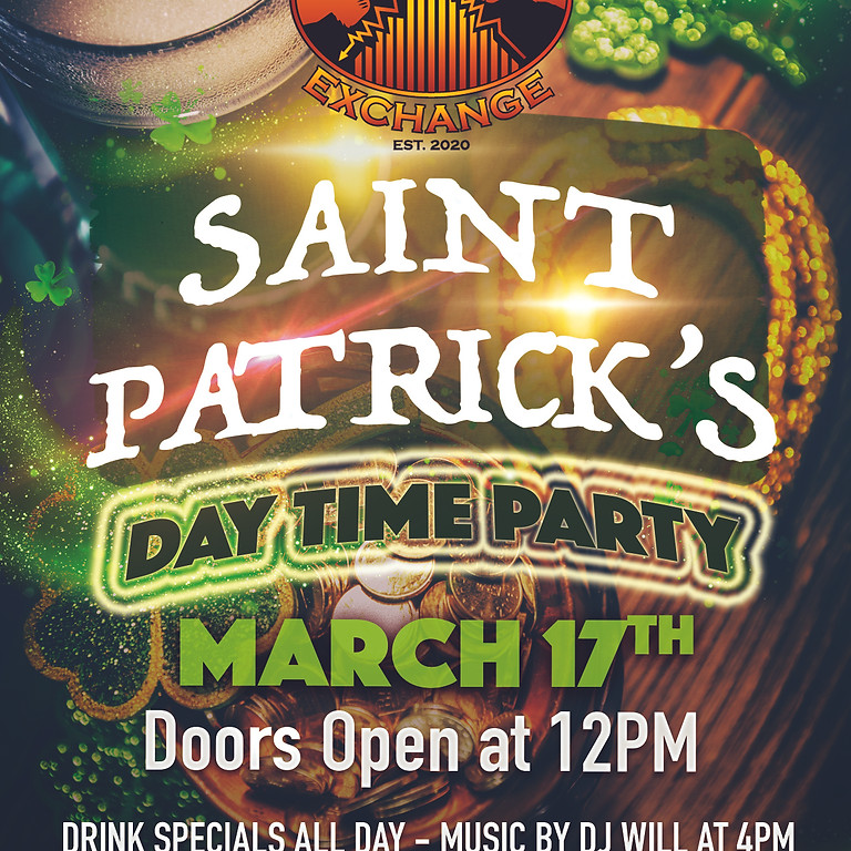 St. Patrick's Day Time Party