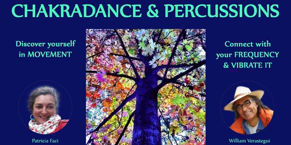 Chakradance & Percussions Workshop - 9 &10 May 2020