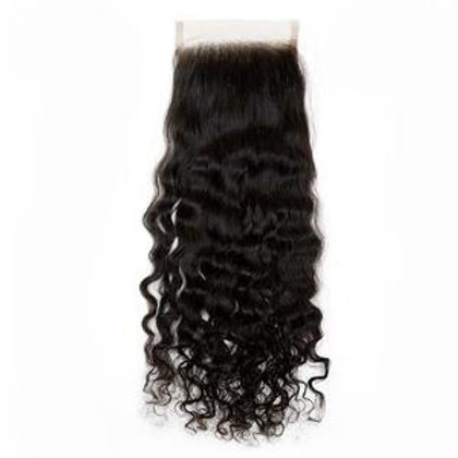 "Bee Flawless Cambodian Loose Wave 5x5"" Closure"
