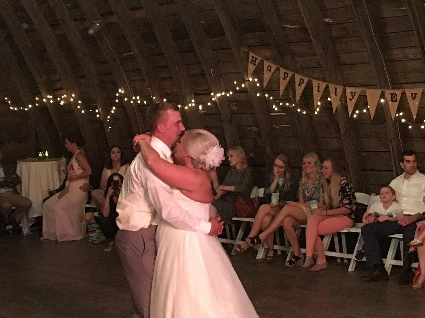 Rustic First Dance