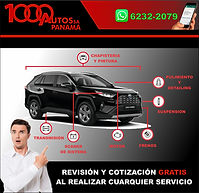 NUEVO DISEÑO 1000 AUTOS PANAMA REVISION