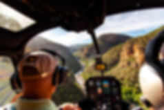 Helicopter flights over the Blyde River Canyon