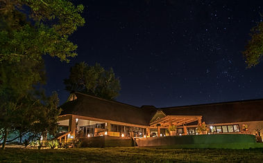 The River Lodge by night