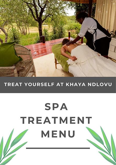 Khaya Ndlovu Manor House Spa Menu 1.png