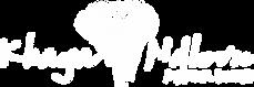 Khaya Ndlovu Logo (transparent - white).