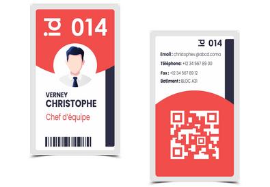 Carte d'identification
