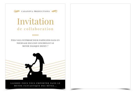 Invitation Disdey