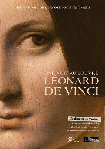 Une Nuit au Louvre - Léonard de Vinci