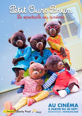 Petit Ours Brun - Le spectacle au cinéma