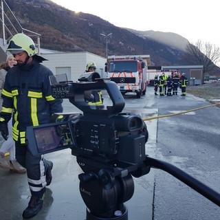 Pompiers figurants