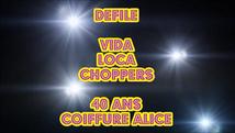 Défilé 40 Ans Coiffure Alice coiffure     2014