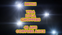 Défilé 40 Ans Coiffure Alice coiffure  |  2014