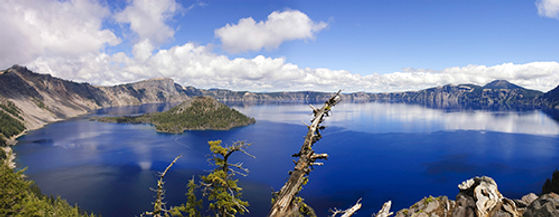 Voici le lac Klamath d'où provient l'algue AFA. C'est une réserve naturelle dans l'Orégon aux USA.