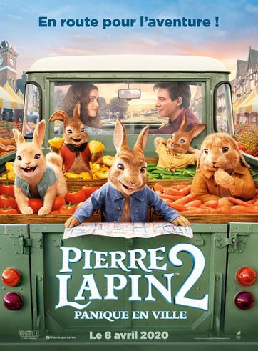 Pierre Lapin 2 - Panique en ville