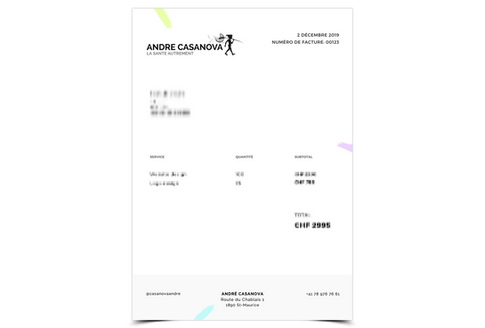 André Casanova - La Santé Autrement | Facture 2020