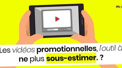 Les vidéos promotionnelles, l'outil à ne plus sous-estimer!