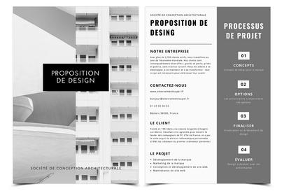 Proposition de design
