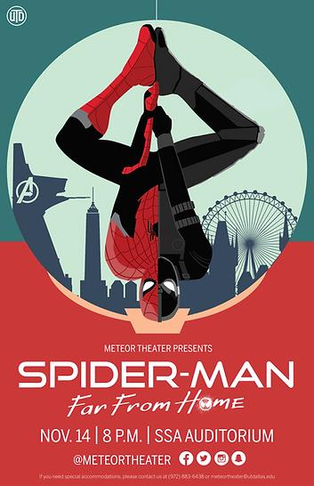Spiderman Far From Home UTD