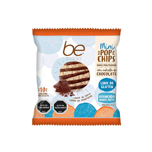 24 unidades Mini pop chips chocolate (25 g.)