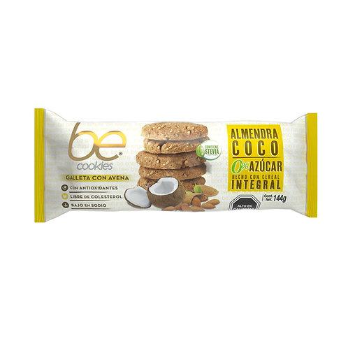 18 unidades Galleta 0% azúcar almendra coco (144 g.)