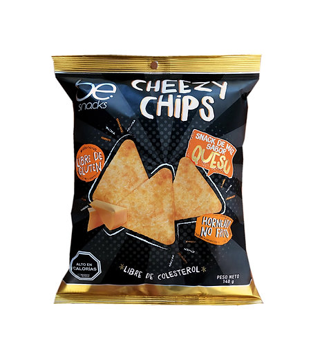 12 unidades Cheezy Chips (140 g.)