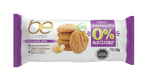 20 unidades galletas de avena 0% azúcar mantequilla