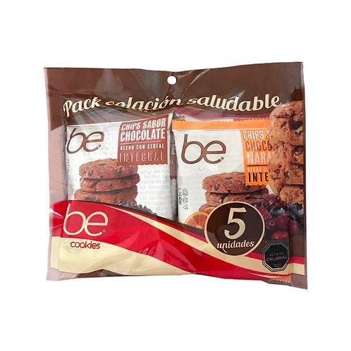 12 unidades Pack colación 5 galletones (40 g.)