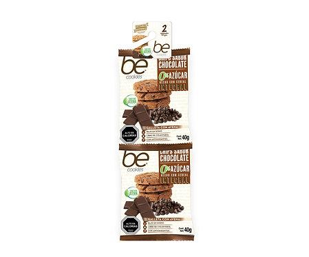 20 unidades Tira Galletón Chips Chocolate 0% azúcar  (2 X 40 g.)