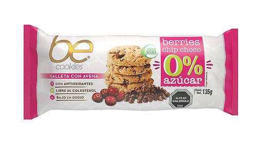 20 unidades galletas de avena berries chip chocolate 135 g.