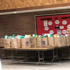 Salvation Army Thanksgiving bags