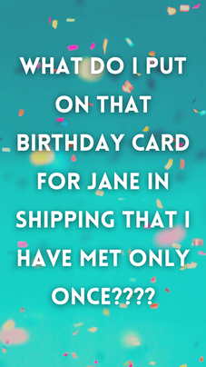 Office Birthdays