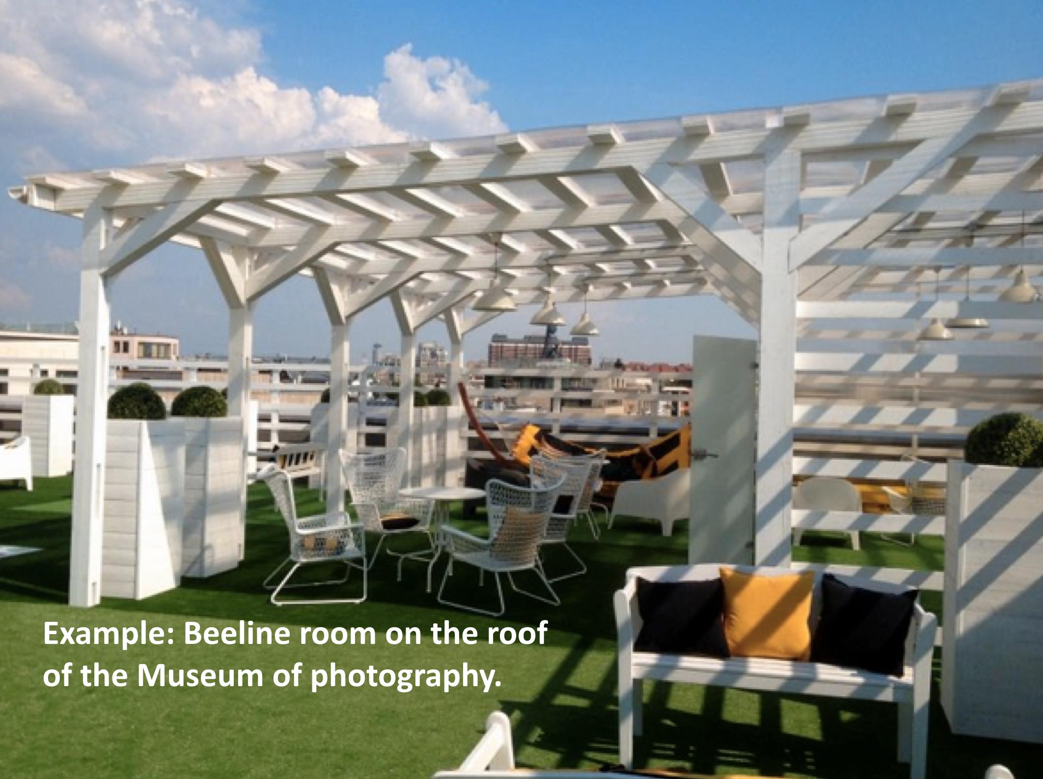 Beeline room on the roof