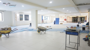 Construction:  Conference Lounge 3