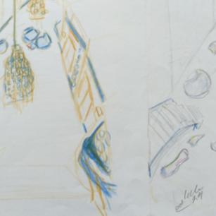 Sketch Design Foyer: Concept 1