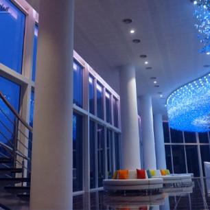 Foyer: Night view