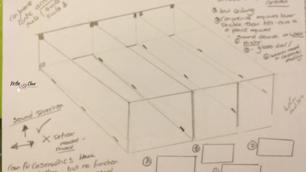 Interior Sketch: Conference Suite 1