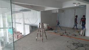 Plastering & Electric:  VIP Suite