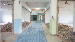 Construction: Conference lounge 9