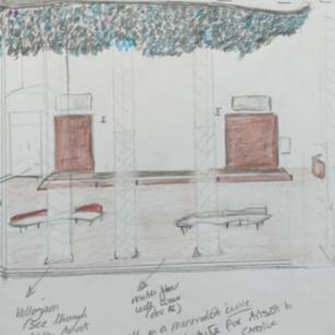 Sketch Foyer: Concept 3