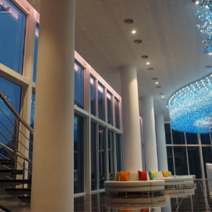 Foyer: Evening Lights
