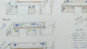 Sketch: Steinway Suites. Acoustics 1