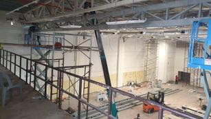 Control Technicial Room Build