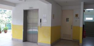 Backstage Lift & Washrooms