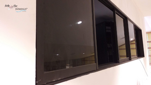 Slide Windows fitted: Control room