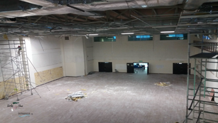 Control room Renovation. Before