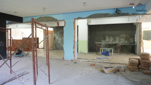 Construction: Conference Lounge 8