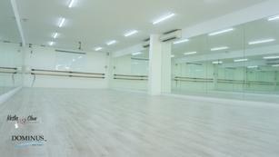 Construction:  Dance studio 1